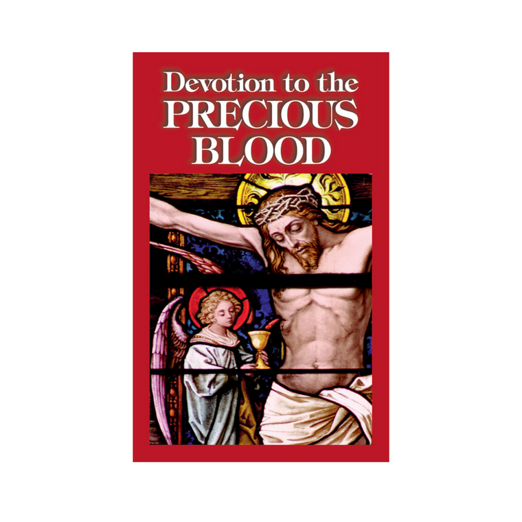 Devotion to the Precious Blood Booklet