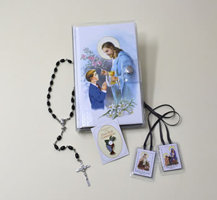 Boys Communion Wallet Set