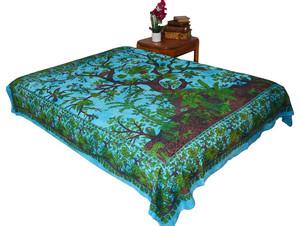Hippie Tree Mandala Tapestry Bohemian Wall Hanging Throw Dorm Decor
