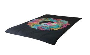 Tie-Dye Peace Lotus Mandala Tapestry Bohemian Wall Hanging Throw Decor