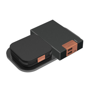 Duracell Powermat 2 Go Power Wireless Charging batteries with power mat