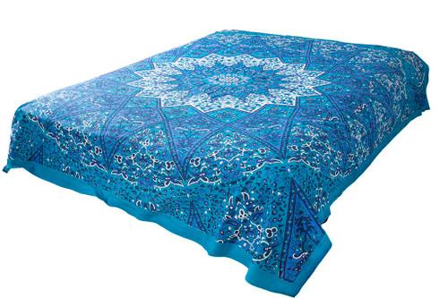 Hippie White Star Mandala Tapestry Bohemian Wall Hanging Throw Dorm Decor