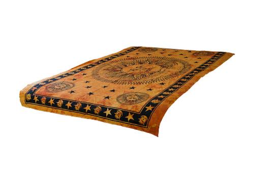 Twin Tie-Dye Sun Star Mandala Tapestry Bohemian Wall Hanging Throw Dorm Decor