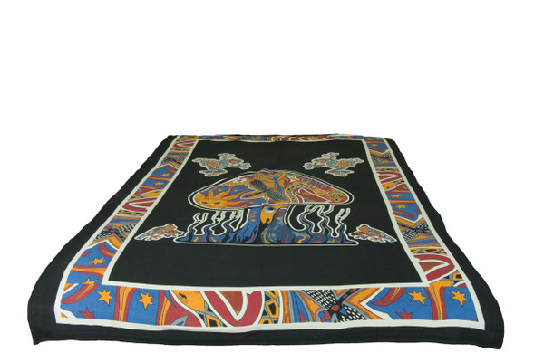 Swamp Mandala Tapestry Bohemian Wall Hanging Throw Dorm Decor