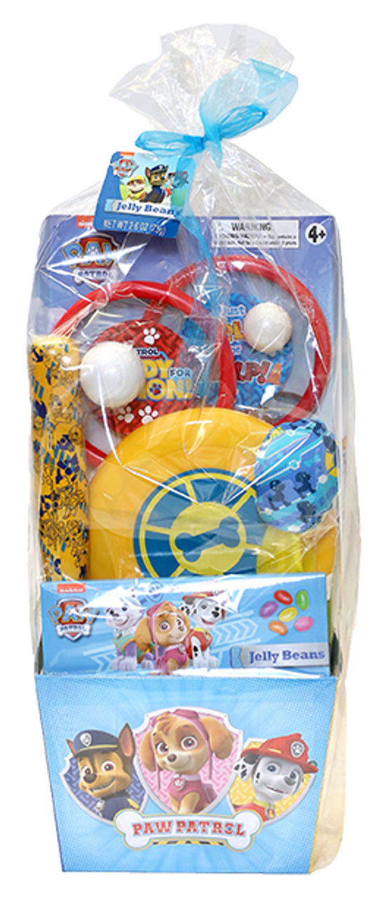 Frankford. Paw Patrol Gift Basket w/Jelly Beans
