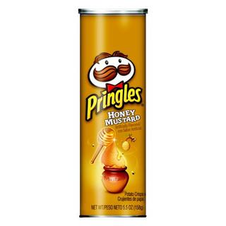 PRINGLES - USA - Honey Mustard Potato Crisps 158g