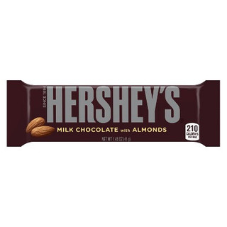 Hershey Milk Chocolate with Almonds 41g