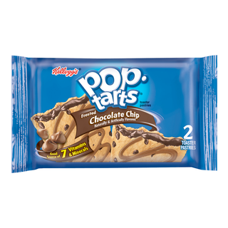 Pop Tarts - Frosted Chocolate Chip - 2 Pack Toaster Pastries