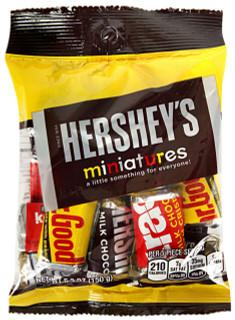 Hershey Miniatures Bag 150g