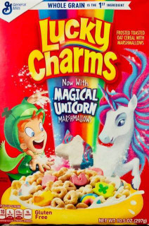 General Mills Lucky Charms Cereal Box with Marshmallows Net 297g