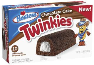 Hostess Chocolate Twinkies Individually Wrapped Cakes 10pk - 385g