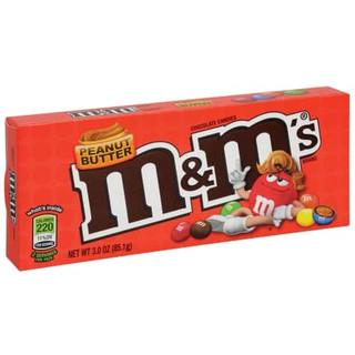 M&Ms Peanut Butter Chocolate Candies Box
