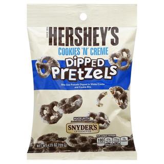 Hershey Cookie n Creme Dipped Pretzels 120g