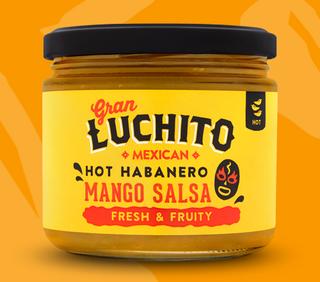 Gran Luchito Hot Habanero Mango Salsa 300g