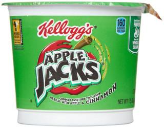 Apple Jacks Cereal Single Serve Bowl 42g