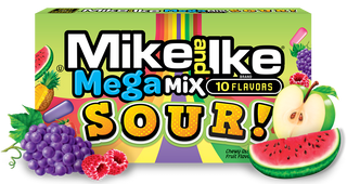 Mike & Ike Mega Mix Sour Theatre Box 141g