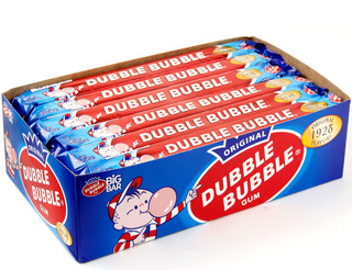 Dubble Bubble Big Bar 3oz Bubble Gum