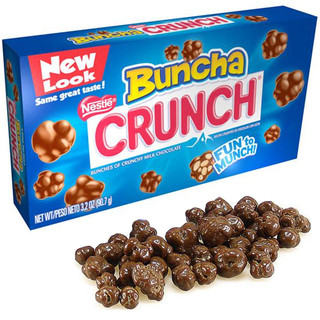 Nestle Buncha Crunch Milk Chocolate Theatre Box 90.7g