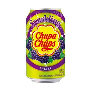 Chupa Chups Sparkling Soft Drink 345ml - Grape