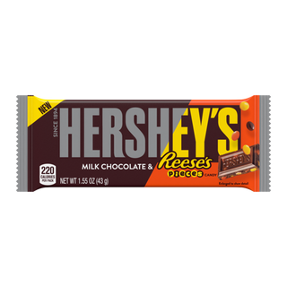 Hershey / Reeses Pieces Milk Chocolate Bar 43g