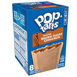 Pop Tarts Frosted Brown Sugar Cinnamon Toaster Pastries 8 Pack