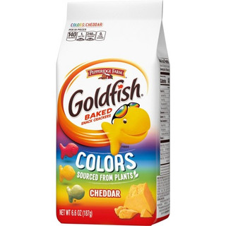 Goldfish Colors Cheddar Crackers 187g