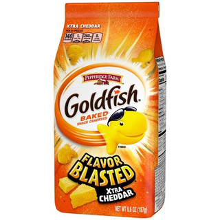 Goldfish Flavor Blasted Xtra Cheddar Crackers 187g