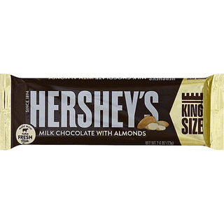 Hershey Milk Chocolate with Almonds King Size 73g