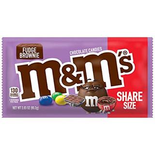 M&Ms Fudge Brownie Share Size 80.2g