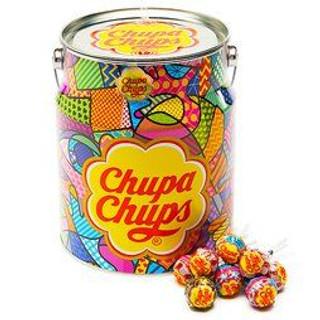 Chupa Chups Tin Assorted Creamy 80pc 960g