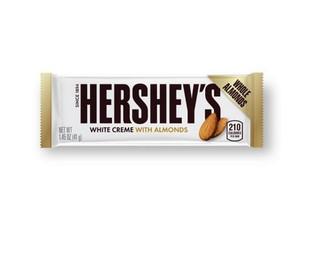 Hershey White Chocolate Almond Bar 41g