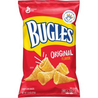 Bugles Original Crispy Corn Snacks 212g