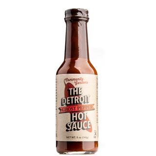 The Detroit Ghost Pepper Hot Sauce 150ml