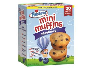 Hostess Blueberry Mini Muffins 20pk 234g