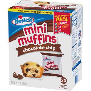 Hostess Chocolate Chip Mini Muffins 20pk 234g