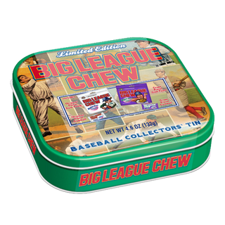 Big League Chew Collectors Tin - Limited Edition 132g