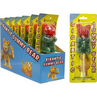 Gigantic Gummy Bear on Stick 227g