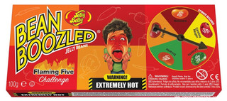 Bean Boozled Flamin Five Chilli Jelly Beans with Spinner Included 100g