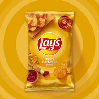Lays Honey Barbecue Chips 184.2g