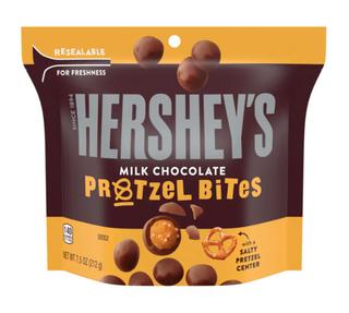 Hershey Milk Chocolate Pretzel Bites 212g