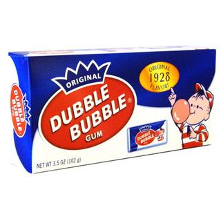 Dubble Bubble Original Gum Box 99g