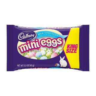 Cadbury USA Mini Eggs King Size 62g