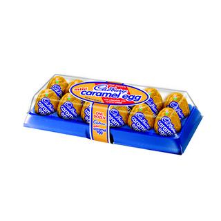 Cadbury USA Mini Caramel Eggs 12pk 107g