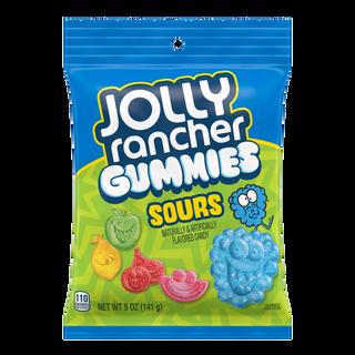 Jolly Rancher Gummies Sours Bag 141g