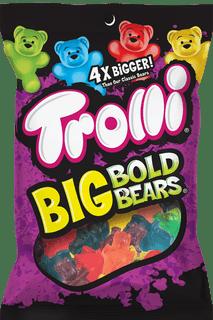 Trolli Big Bold Bears Gummy Candy 142g