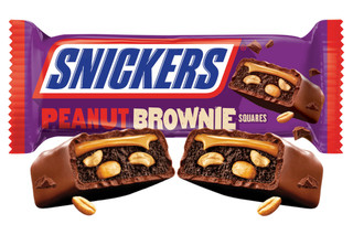 Snickers Peanut Brownie Squares 34g
