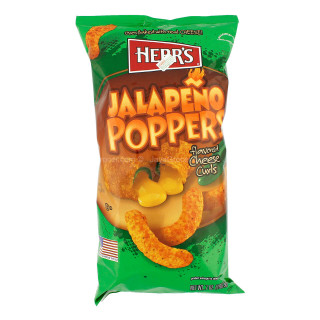 HERRS USA Jalapeno flavoured Cheese Curls 198.5g