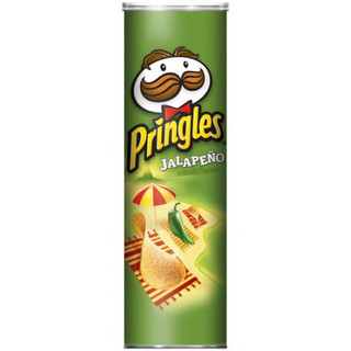 PRINGLES - USA - Jalapeno Potato Crisps 158g