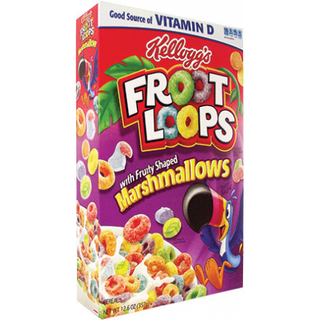 Kellogg's Froot Loops with Marshmallows Cereal USA (297g)