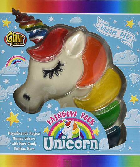 Giant Rainbow Unicorn Gummy Net 700g